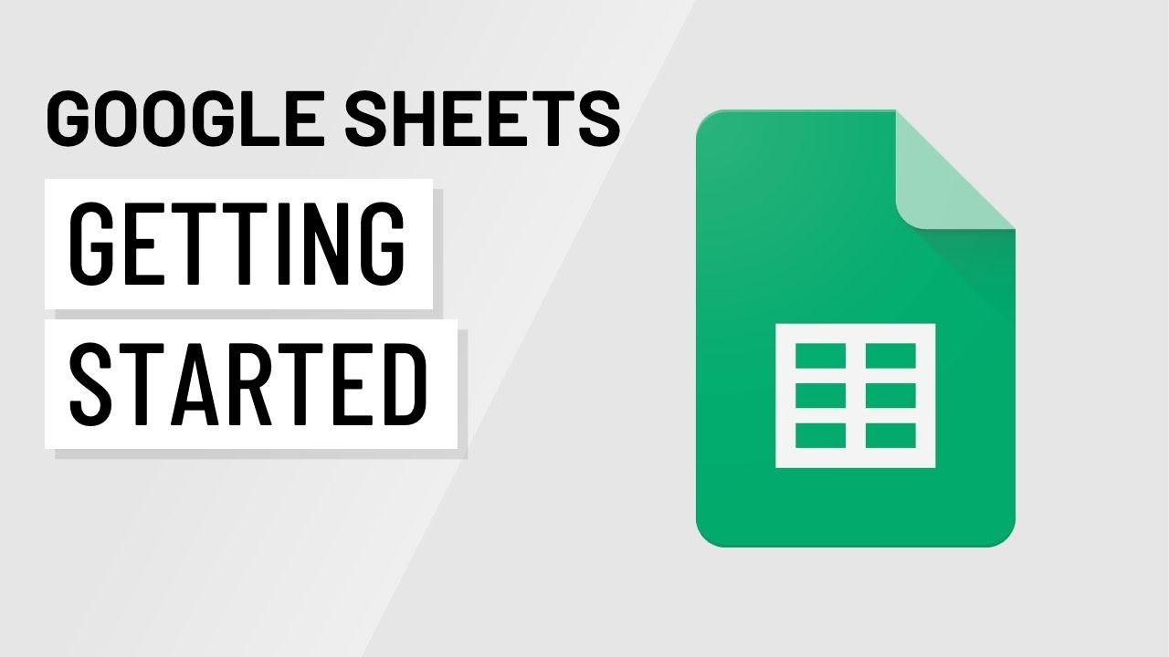 Getting-Started-with-Google-Sheets